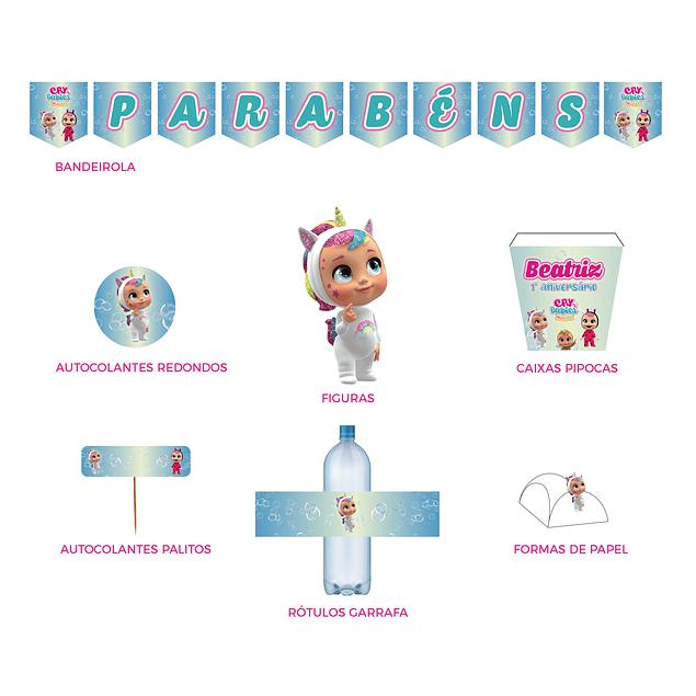 Produtos Festa Cry Babies