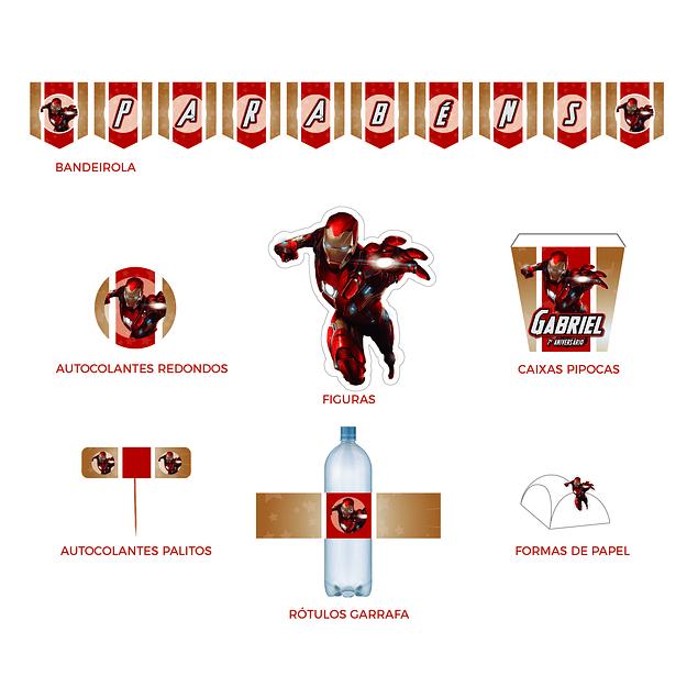 Produtos Festa Homem de Ferro
