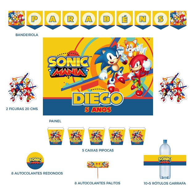 Kit Festa Sonic Mania