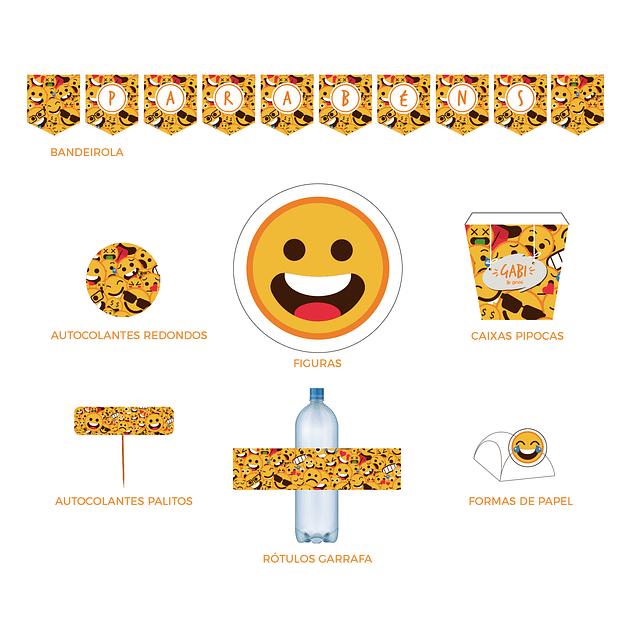 Produtos Festa Emojis
