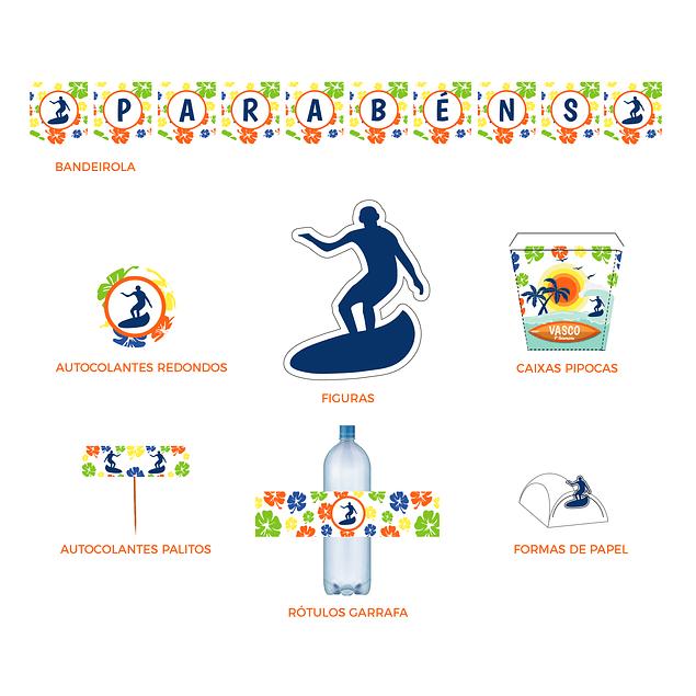 Produtos Festa Surf