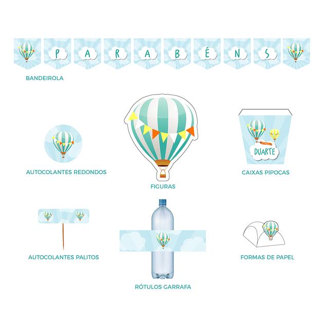 Produtos Festa Balão de Ar