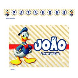 Kit Festa Pato Donald