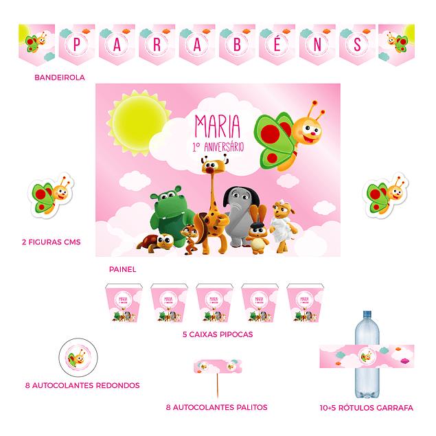 Kit Festa Baby TV Menina