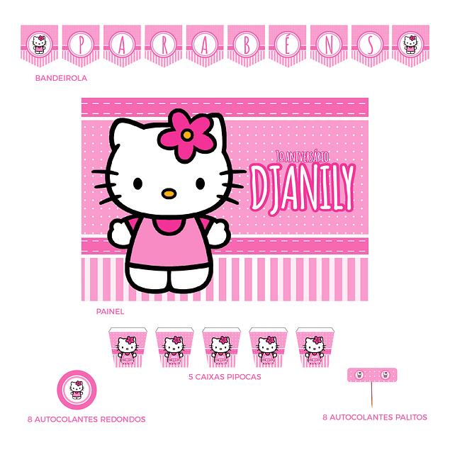 Kit Festa Hello Kitty