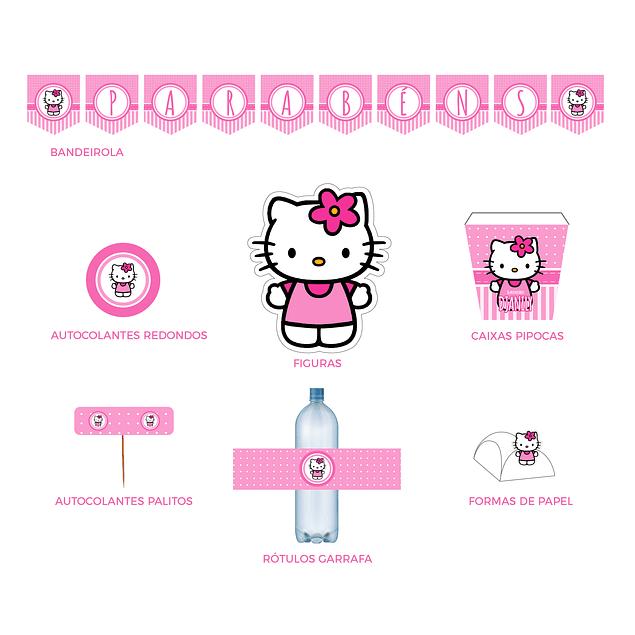 Produtos Festa Hello Kitty
