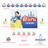 Kit Festa Princesa Branca de Neve