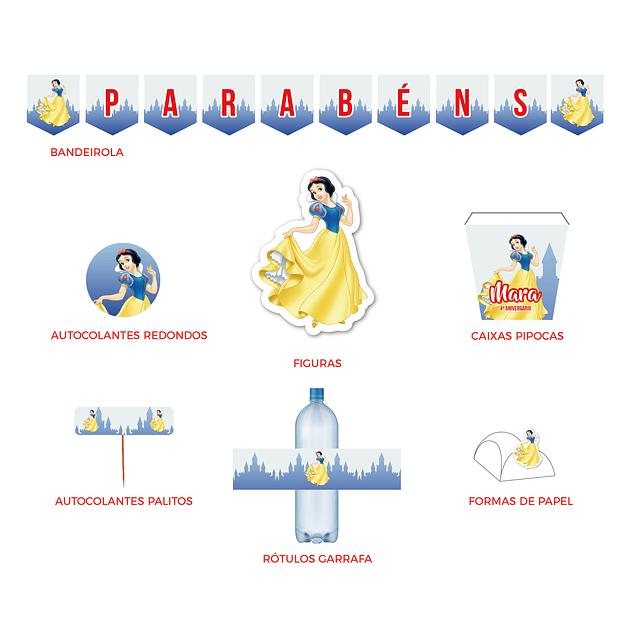 Produtos Festa Princesa Branca de Neve