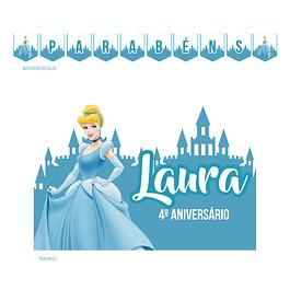 Kit Festa Princesa Cinderela