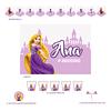 Kit Festa Rapunzel