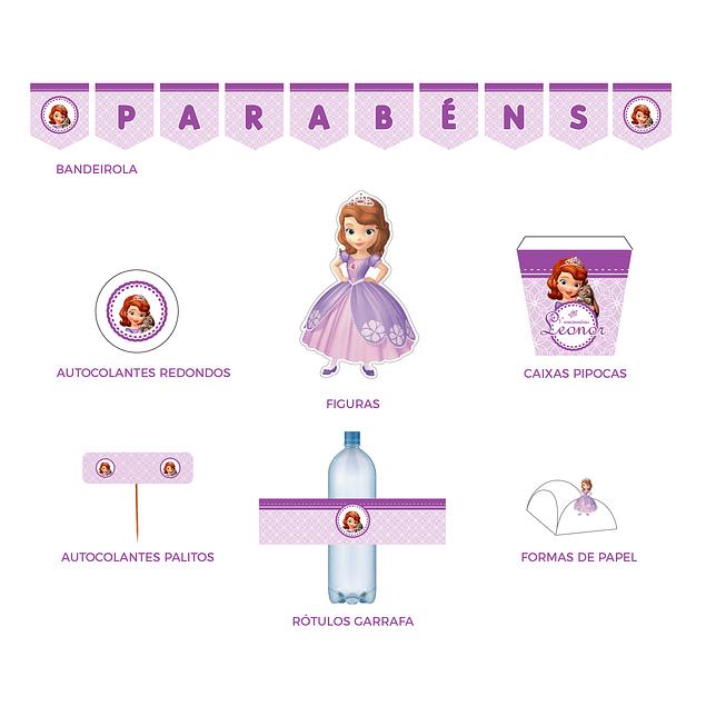 Produtos Festa Princesa Sofia