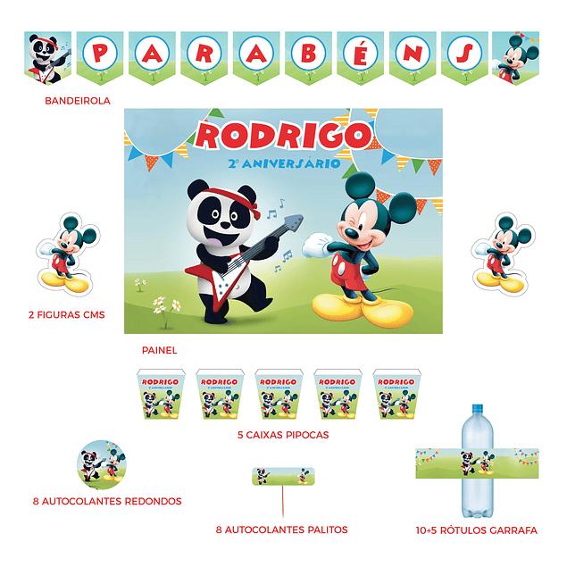 Kit Festa Mickey e Panda