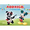 Produtos Festa Mickey e Panda