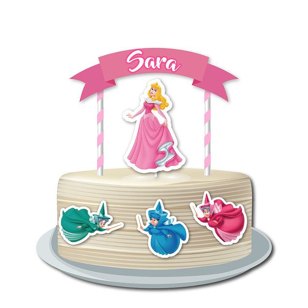 Produtos Festa Princesa Aurora