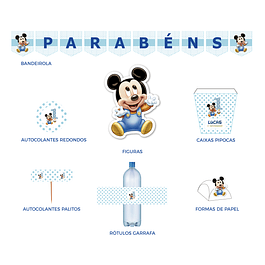 Produtos Festa Mickey Bebé 2
