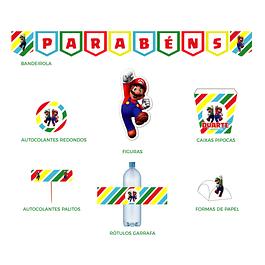 Produtos Festa Super Mario