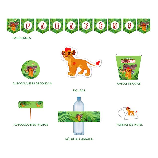 Produtos Festa Guarda do Leão