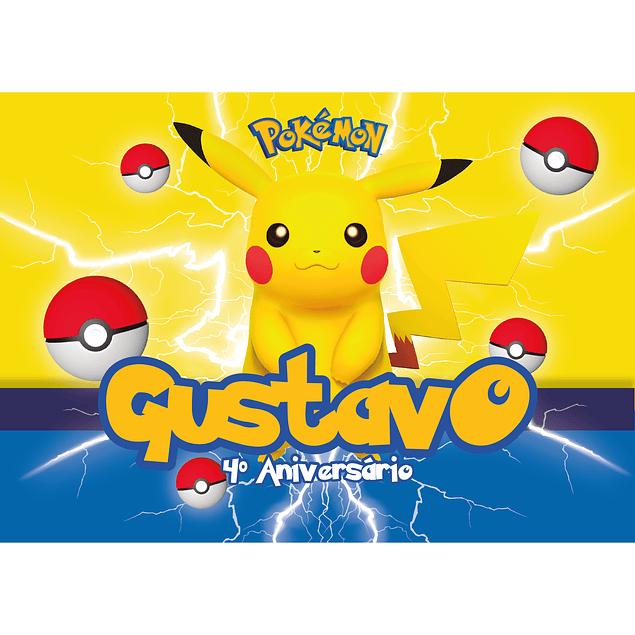 Produtos Festa Pikachu