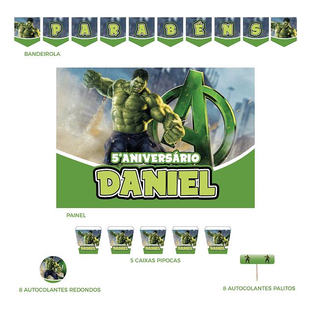 Kit Festa Hulk