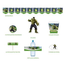 Produtos Festa Hulk