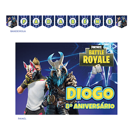 Kit Festa Fortnite Raios