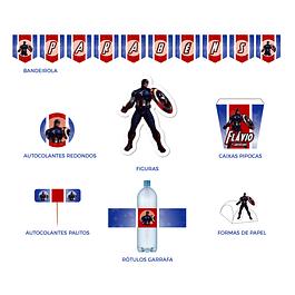 Produtos Festa Capitão América