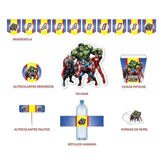 Produtos Festa Avengers 2