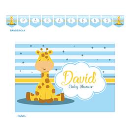 Kit Festa Girafa