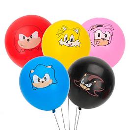 5 Balões Sonic