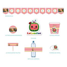 Produtos Festa Cocomelon Menina