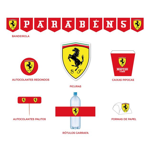Produtos Festa Ferrari