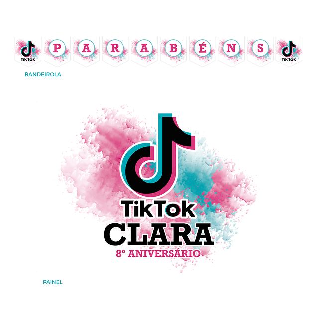 Kit Festa Tik Tok Branco