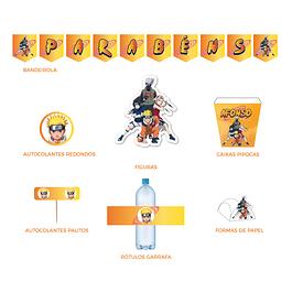 Produtos Festa Naruto