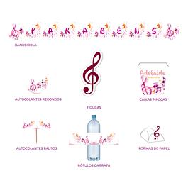 Produtos Festa Música