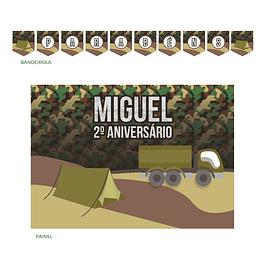 Kit Festa Militar