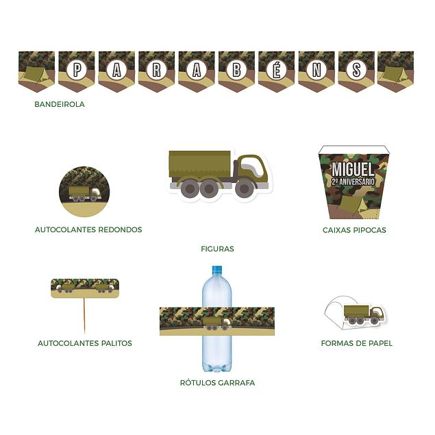 Produtos Festa Militar