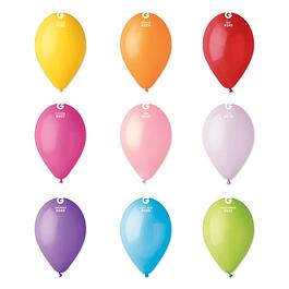 10 Balões Lisos