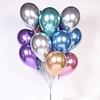 5 Balões Cromados