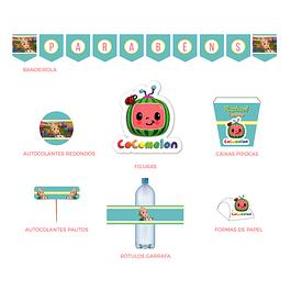 Produtos Festa Cocomelon