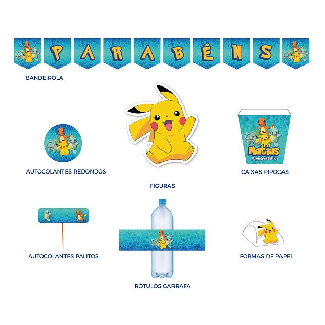 Produtos Festa Pokemon