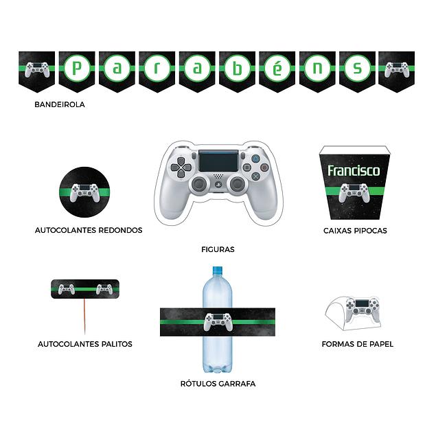 Produtos Festa Playstation