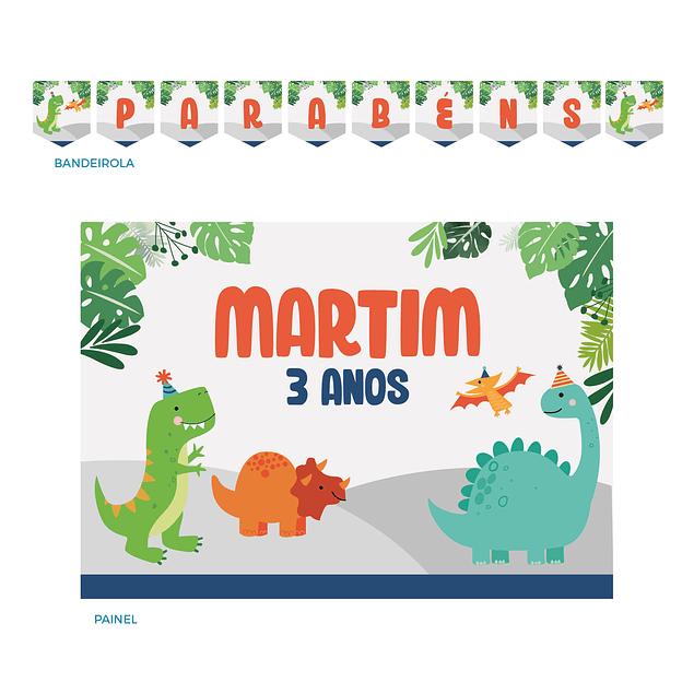 Kit Festa Dinossauros Infantil