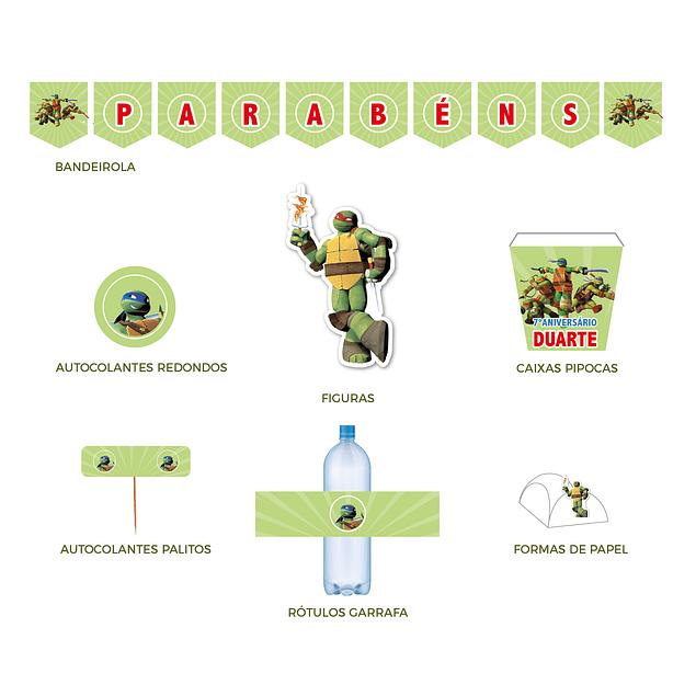 Produtos Festa Tartarugas Ninja