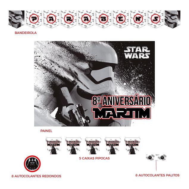 Kit Festa Star Wars