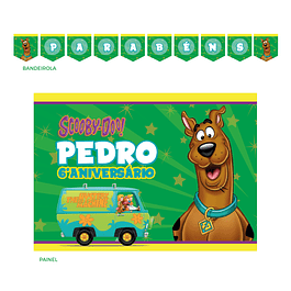 Kit Festa Scooby Doo