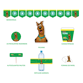 Produtos Festa Scooby Doo