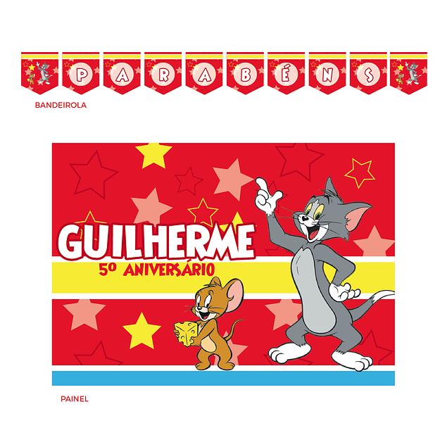 Kit Festa Tom e Jerry
