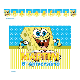 Kit Festa Sponge Bob