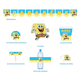 Produtos Festa Sponge Bob