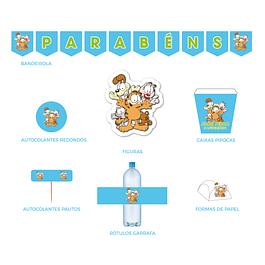 Produtos Festa Garfield